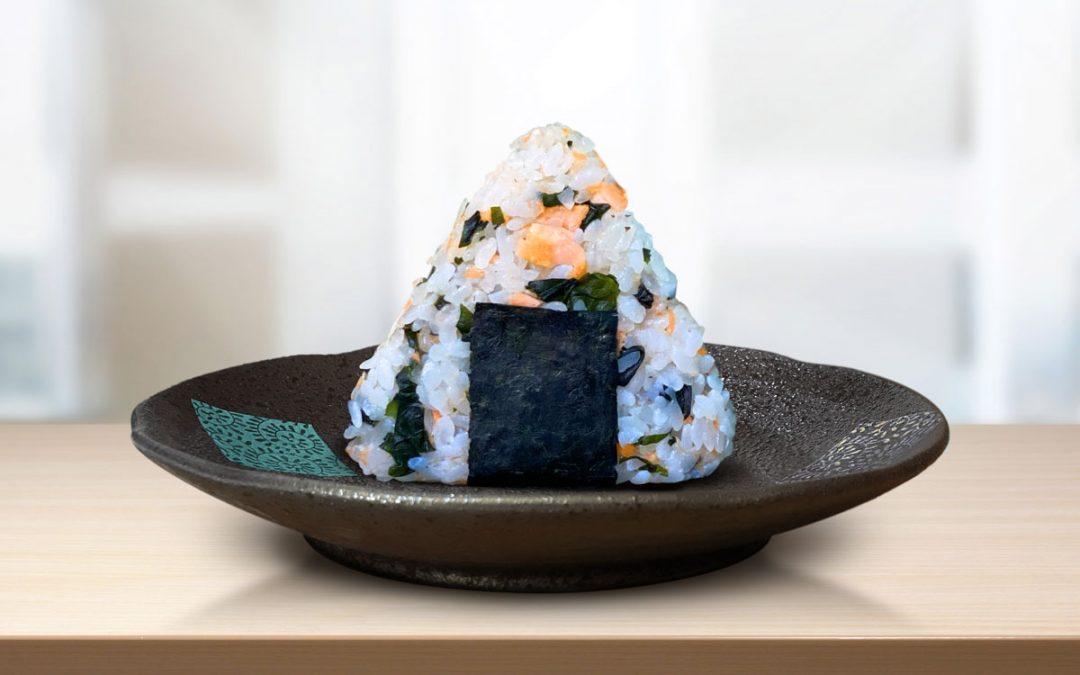 onigiri Sake wakame