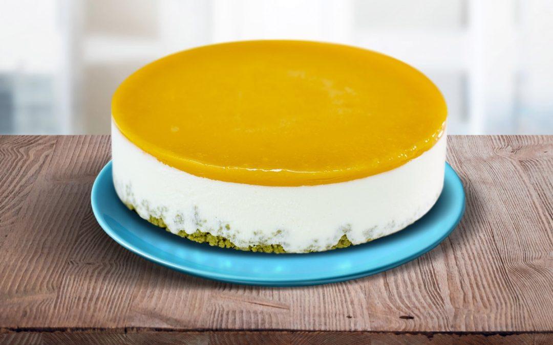 torta CHEESECAKE AL mango